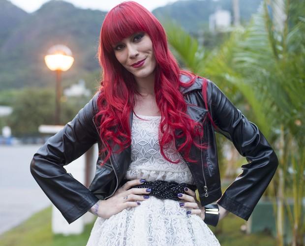 Adriane Move Over bastidores Top 10 (Foto: Camila Serejo/TV Globo)