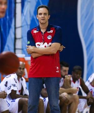Marcel- técnico Pinheiros (Foto: Ricardo Bufolin)
