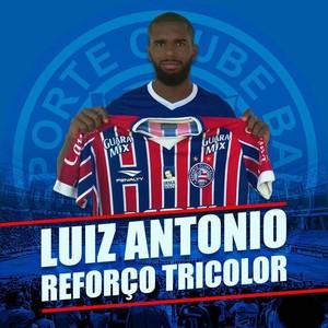 Luiz Antônio; Bahia (Foto: Divulgação/EC Bahia)