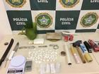 Três homens são presos com drogas e balança de precisão em Saquarema