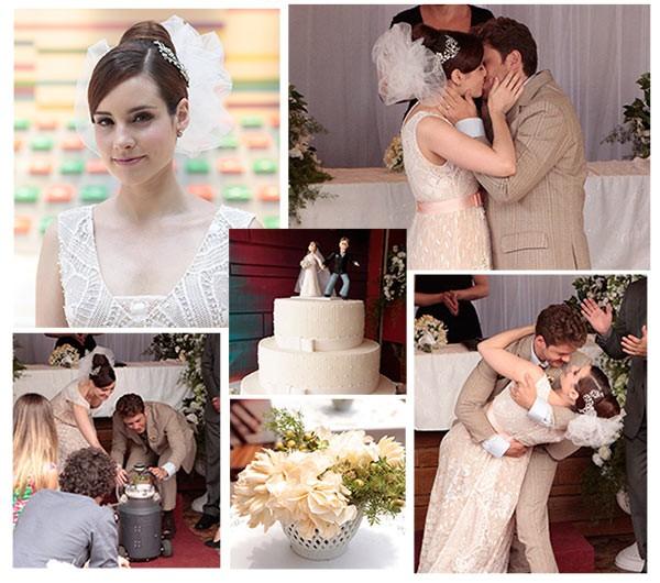 casamento isabela (Foto: TV globo/Malhação)