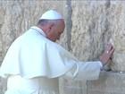 Na Terra Santa, Papa pede união das religiões para buscar a paz