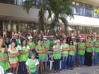 Em greve, servidores da enfermagem  acampam em frente à secretaria no TO