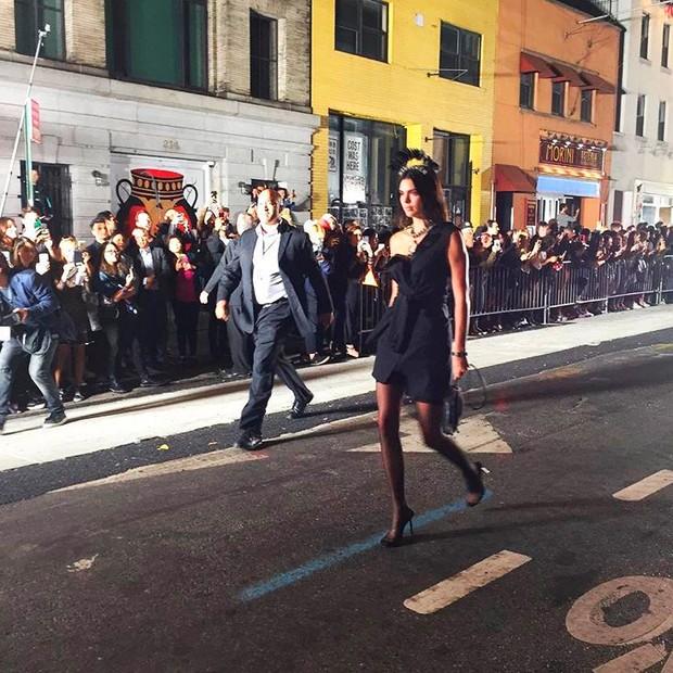 Kendall Jenner para Alexander Wang (Foto: Reprodução/Instagram)
