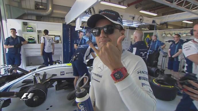 Felipe Massa ficou em 10º em seu último treino classificatório na Fórmula 1 (Foto: Divulgação)