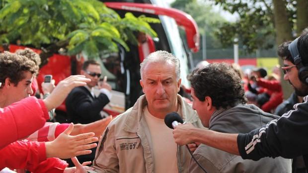 Dorival Júnior no Gre-Nal 392 (Foto: Diego Guichard / GLOBOESPORTE.COM)