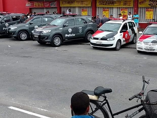 Crime aconteceu na tarde deste domingo (11) em Vicente de Carvalho (Foto: Rodrigo Marcos dos Anjos/Arquivo Pessoal)