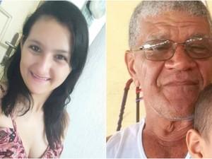 Rairleny Ganum da Silva, de 19 anos, e Arnaldo Reis Praxedes, 63 anos, desaparecem na última quinta-feira (2) (Foto: Arquivo Pessoal)