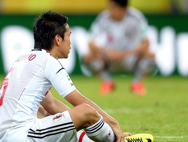 Yuto Nagatomo derrota Japão Itália (Foto: Getty Images)