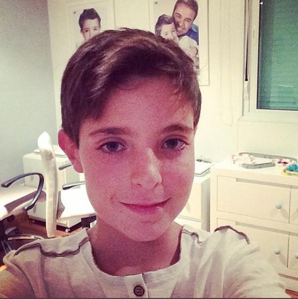 Aos 14 anos, o filho de Gugu cozinha desde os 12 (Foto: Reprodução / Instagram)