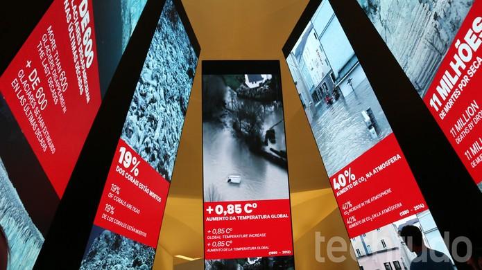 Museu do Amanhã tem Cérebro que controla tudo (Foto: Luana Marfim/TechTudo)