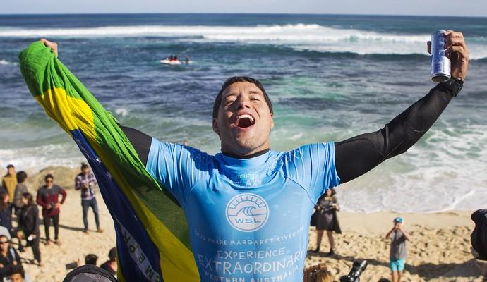 Adriano de Souza Mineirinho Margaret River mundial de surfe final  (Foto: WSL)