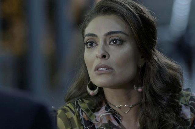 Juliana Paes é Bibi em 'A força do querer' (Foto: Reprodução)