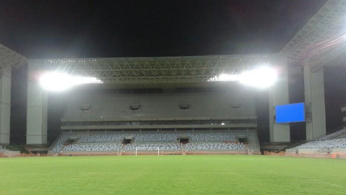 Iluminação Arena Pantanal (Foto: Flávio Santos/TVCA)