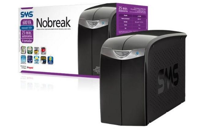 Um dos modelos mais barato e eficientes de nobreak (Foto: Divulgação/SMS)
