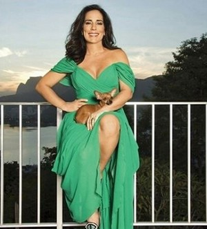 Gloria Pires mostra a boa forma  (Foto: Arquivo Pessoal)