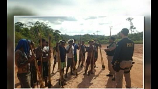 Índios protestam por melhorias para aldeias no sudoeste do Pará