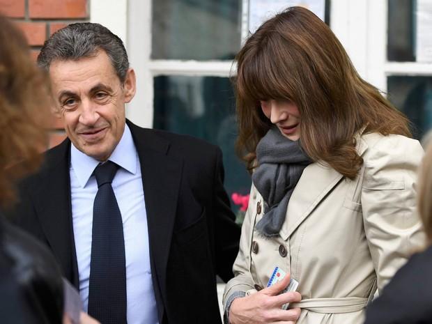 Ex-presidente Nicolas Sarkozy também aparece bem cotado nas primárias (Foto: Eric Feferberg/Reuters)