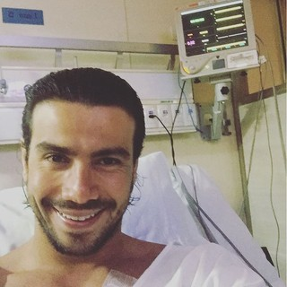 Mariano quando estava em hospital no Rio (Foto: Reprodução / instagram)