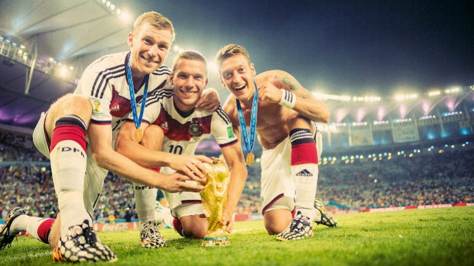 Alemanha galeria fotos Copa do Mundo (Foto  Reprodução   Site Oficial) 0ae126469416a