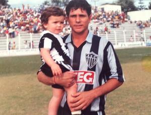 Williams Batista Freire ex-jogador Araxá Esporte (Foto: Williams Batista/Arquivo Pessoal)