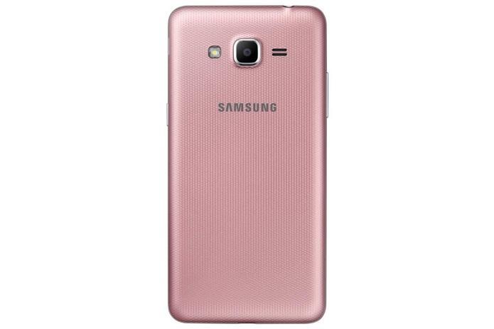 Galaxy J2 Prime é o primeiro celular da linha J na cor rosa (Foto: Divulgação/Samsung)