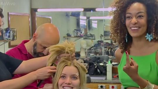 Nathalia Dill mostra os cuidados com os cabelos após transformação dupla
