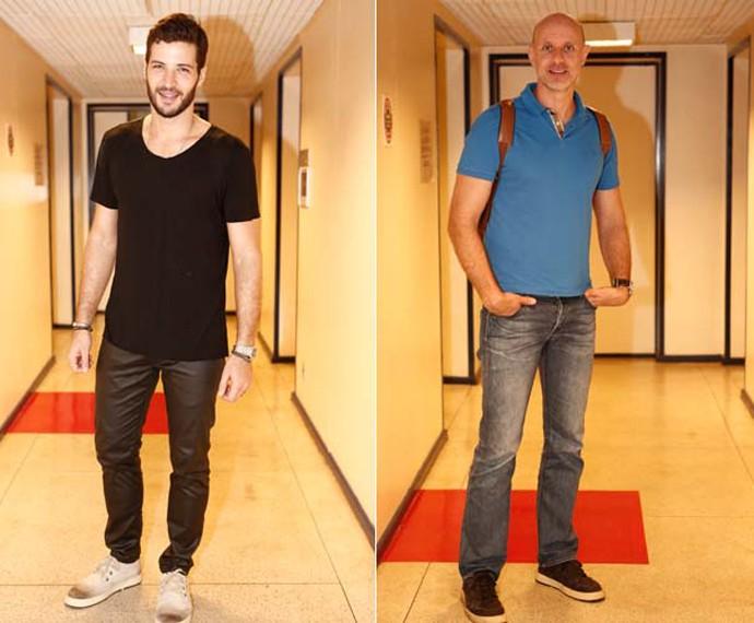 Leandro Lima e Tande também participaram da competição (Foto: Inácio Moraes/ Gshow)