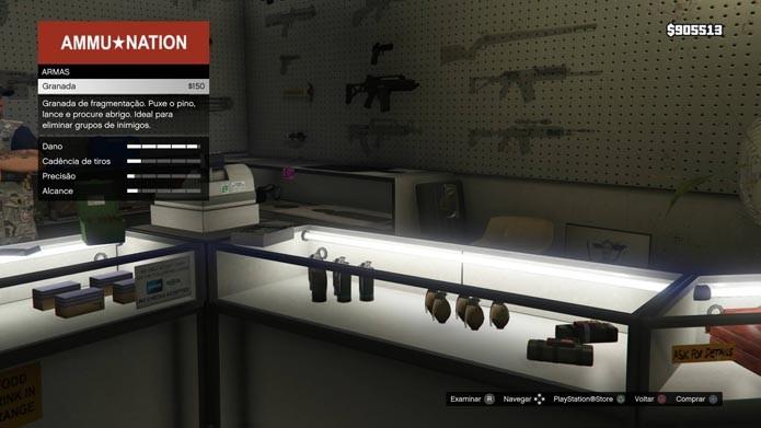Confira granadas e explosivos (Foto: Reprodução/Murilo Molina)