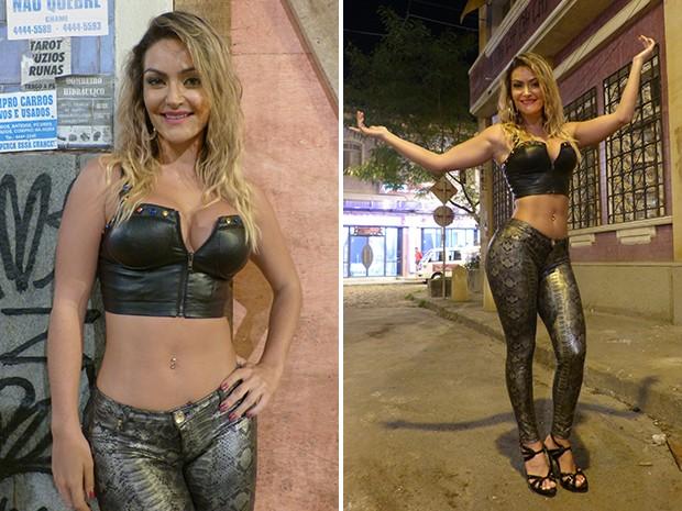 Laura Keller ganha destaque em Pé na Cova (Foto: TV Globo / Divulgação)