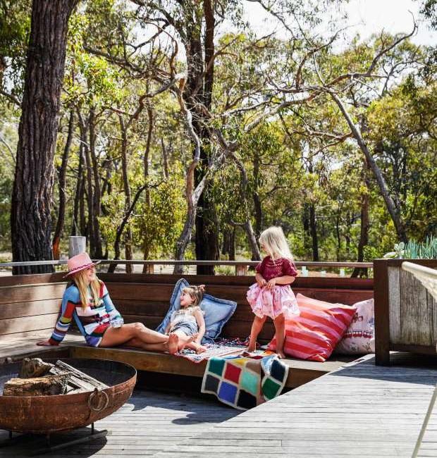 Casa de praia e campo,de Arabella Ramsay, na Austrália (Foto: Armelle Habib/Living Inside)
