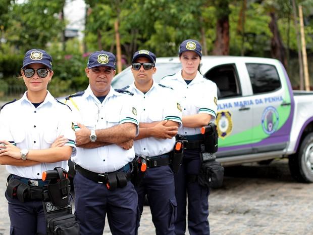 Patrulha Municipal Maria da Penha é implementada em Jaboatão (Foto: Marcelo Ferreira/Divulgação)