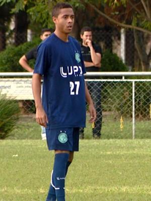 Clebinho, atacante do Guarani (Foto: Reprodução / EPTV)