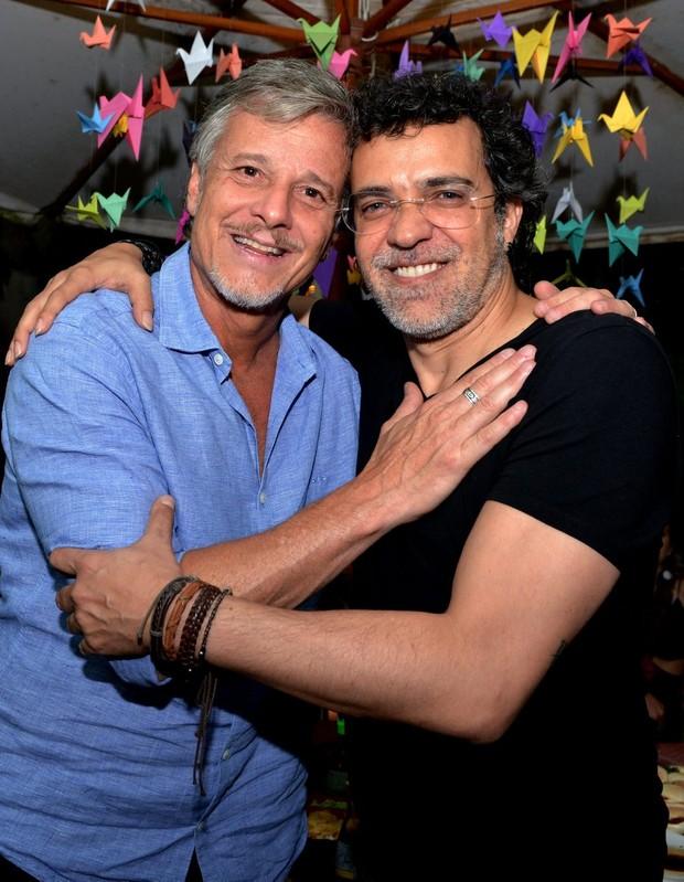 Marcello Novaes e Paulinho Moska (Foto: CRISTINA GRANATO/Divulgação)