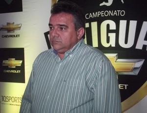 Eudes Fernandes, presidente do Baraúnas (Foto: Tiago Menezes/GLOBOESPORTE.COM)