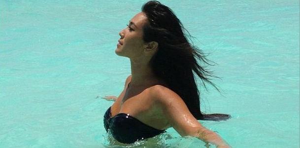 Daniele Suzuki, beach girl (Foto: Reproduo/Instagram)