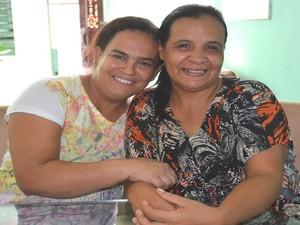 Patroa e empregada doméstica são amigas há dez anos (Foto: Marina Fontenele/G1)