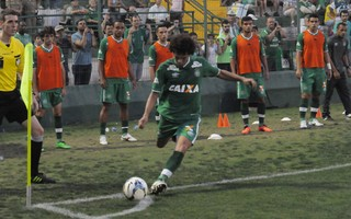 Camilo Chapecoense contra Santos (Foto: Cleberson Silva/Divulgação Chapecoense)