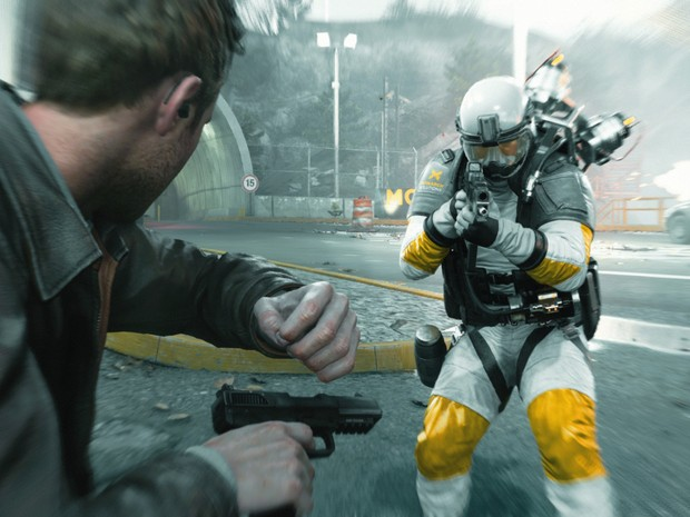 Combinação de game e série de TV funciona em 'Quantum Break', e ajuda a criar experiência bem particular (Foto: Divulgação)
