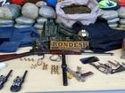 Integrantes de quadrilha são  presos com armas e drogas na Bahia