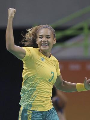 Handebol feminino Brasil x Noruega (Foto: Reuters)