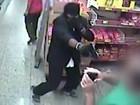 Vídeo mostra ação de quadrilha que assaltou supermercado em Porto Feliz