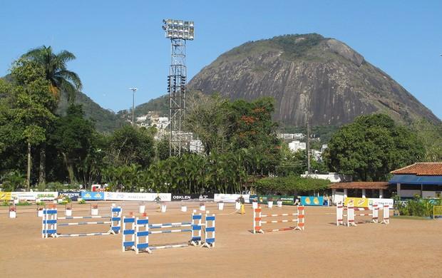 Instalações da Sociedade Hípica do Rio (Foto: Tulio Moreira / Globoesporte.com)