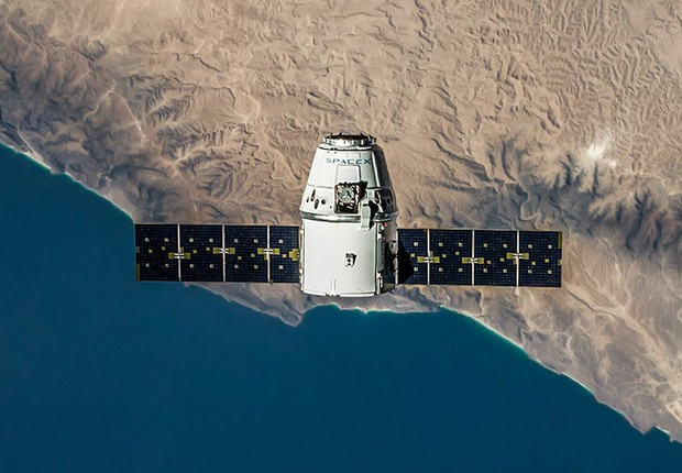 Um dos satélites que deve disponibilizar internet grátis (Foto: Divulgação)