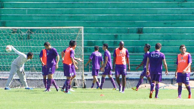 Guarani treina para o Campeonato Paulista (Foto: Reprodução / EPTV)