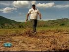 Agricultores perdem lavouras inteiras por causa da lama em Colatina, ES