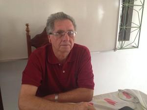 Analista ambiental do Ibama, Rubens Portal (Fot Abinoan Santiago/G1)
