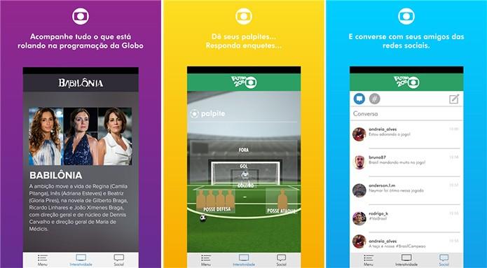 Globo Oficial traz a programação da TV Globo para o Windows Phone (Foto: Divulgação/Windows Phone Store)