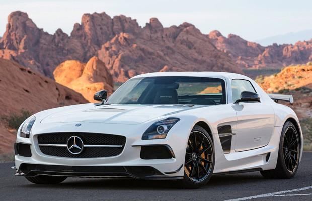 Mercedes SLS AMG Black Series chega por R$ 1,18 milhão (Foto: Divulgação)