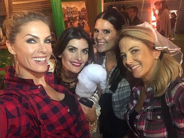 Ana Hickmann, Isabella Fiorentino, Mariana Kupfer e Ticiane Pinheiro (Foto: Reprodução/Instagram)